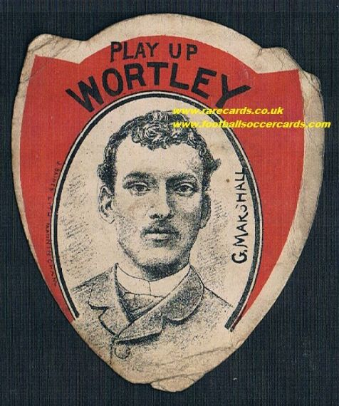 1890s Marshall Wortley rugby Baines